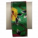Armband spiraal, groen-gekleurde