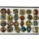 grossiste Boîtes et presentoirs bijoux:Gamme anneaux emalierte