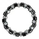 wholesale Jewelry & Watches: Wheel magnet bracelet, silver