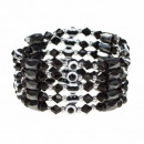 groothandel Sieraden & horloges: Open magneet Chain Eye, Black