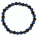 Magnetische kralen armband Blauw