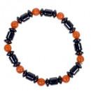 Magnetarmband Cateye, Orange