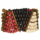 Wood bracelet, colorful