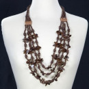 wholesale Jewelry & Watches:Wooden necklace 4 strand