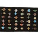 grossiste Bijoux & Montres: Gamme de bagues de pierre naturelle