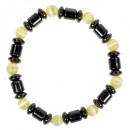 Magnetarmband Cateye, Gelb