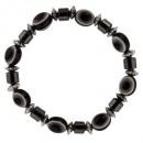 groothandel Armbanden:Oog Hematiet, Zwarte