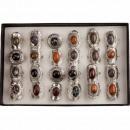 wholesale Rings: Range of natural stone rings 3