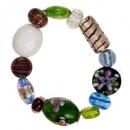 Pulsera de moda con piedras de cristal