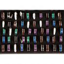 Großhandel Schmuck & Uhren:Edelstahlring Colour2