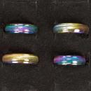 Großhandel Schmuck & Uhren:Edelstahlring Rainbow
