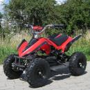 E-QUAD 800W Racer zwart-blauw, rood of groen