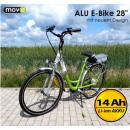 ALU 14Ah elektrische fiets 28