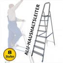 Aluminum household ladder 8 steps