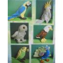 grossiste Fournitures pour animaux de compagnie: Oiseaux exotiques, 15 cm, 6 fois assorti
