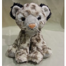 wholesale Dolls &Plush: Sitting snow leopard, 16 cm