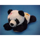 Lying plush panda bear, 28 cm