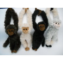 wholesale Toys: Hanging Monkey, 27 cm, 4x assorted