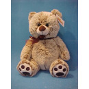 Sitting Bear with ribbon, 26cm
