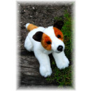 wholesale Other: Lying Jack Russel Terrier, 29 cm
