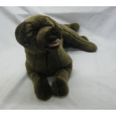 Lying Labrador, brown, 37.5 cm