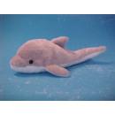 groothandel Home & Living: Grijze dolfijn met mond gesloten, 25 cm