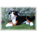 wholesale Dolls &Plush: Reclining Bernese Mountain Dog, 42 cm