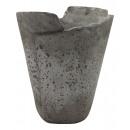 grossiste Pots de fleurs & Vases: Ciment Badia Vase Rond Gris D15H18
