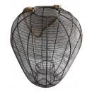 grossiste Lanternes et lanternes: Lanterne  métallique noire D12H42,5