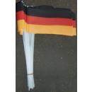 Fußball EM Deutschland 10 Papierfahnen