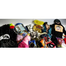 Sonderposten Fasching Karneval Kids 50 Teile