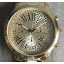 Großhandel Schmuck & Uhren: Coco Milano  Armbanduhr goldfarben UVP € 99