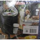 Kühltasche für 5l Bier-Fass  schwarz