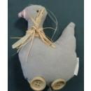Ostern Impressionen Anhänger Stoff-Ente Trine