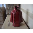 Restposten Vase Asia Style asiatischer Mantel rot
