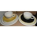 Kaffeegedeck Frühstücks Set Linea 6tlg. mehrfarbig