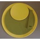 Sonderposten Platzmatten Set Tischset gelb grün