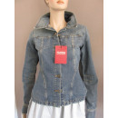 GUESS Damen Jeansjacke Used Look