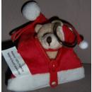 Weihnachten Schlüsselanhänger Weihnachtsteddy