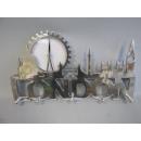 Wandgarderobe Impressionen London silber UVP 119,-