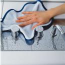 groothandel Reinigingsproducten: Microvezel doek lichtblauw