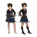 travestimento donna pirata LUXE taglia XL