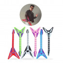 Inflatable Guitar Rock Pointed E-Guitar MIX 98cm