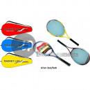 Großhandel Bälle & Schläger: Luxus Tennisschläger mit Hülle MIX 67cm