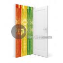 wholesale Curtains & Drapery: metallic door curtain MULTICOLORE 2x1m