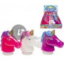 batch of 192 pasta slime unicorn head MIX 8.5cm