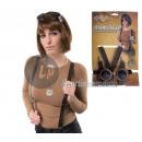 grossiste Lunettes: set accessoires steampunk 3pcs