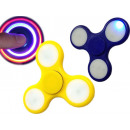 mayorista Juguetes: top hand spinner 7.5cm brillante LED
