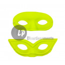 neon fluorescent neon wolf mask YELLOW MIX
