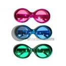 Großhandel Brillen: Retro Metallic Brille MIX